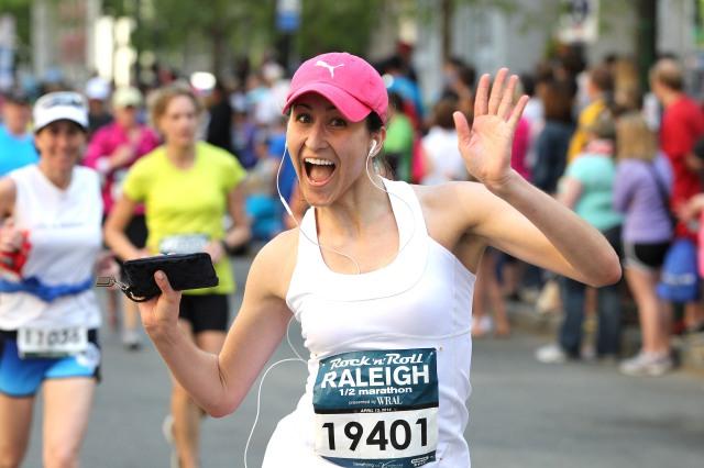 2014 Raleigh Rock n Roll Marathon