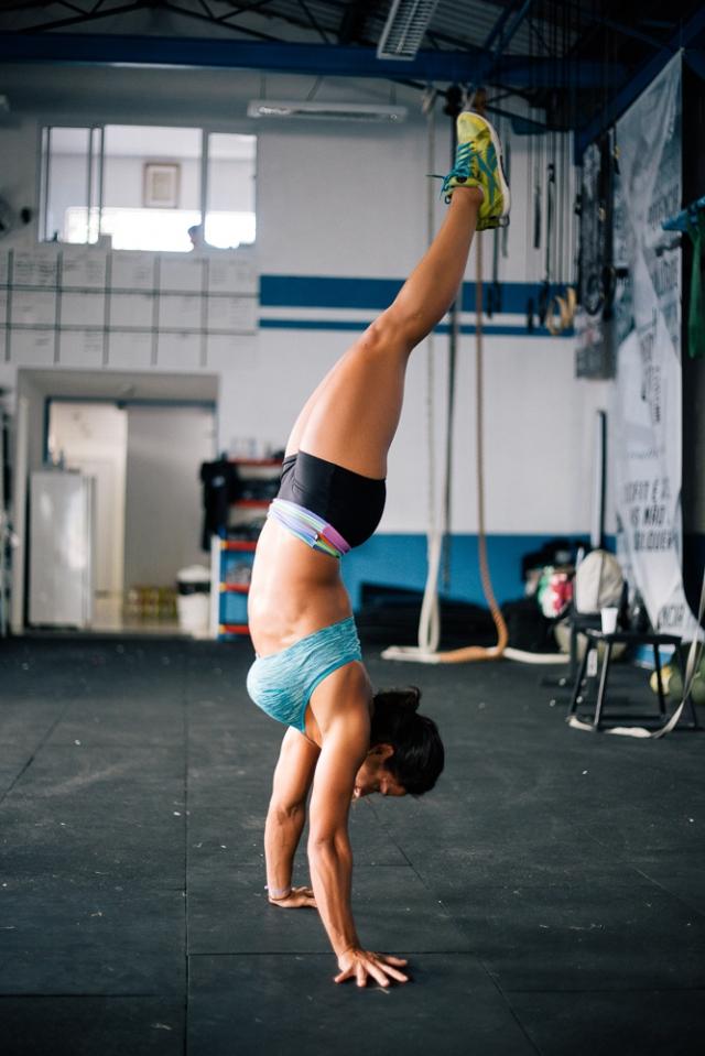 Atleta Antonelli Nicole - ©Tatiana Mello/ Revista Crossfitter