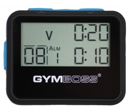 Gymboss interval timer giveaway front
