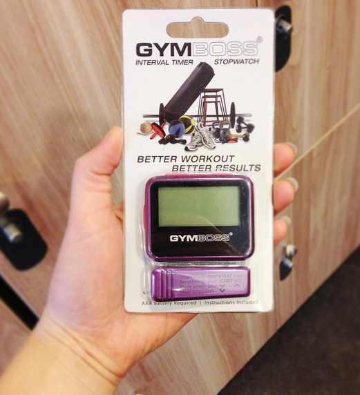 Gymboss giveaway blog